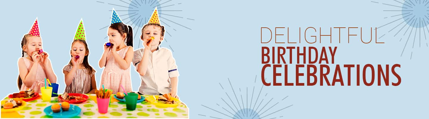 birthday banner home page