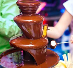 party artists Chocolate Fountain