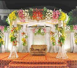 party artists Flower Decoration