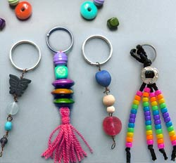 party artists Key Chain Making