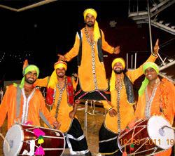 party artists Punjabi Dhol