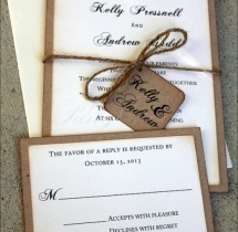 wedding services Invitation Print